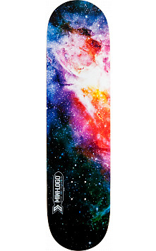 Mini Logo Small Bomb Skateboard Deck 124 Cosmic - 7.5 x 31.375