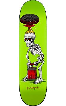 Powell Peralta Explode Skateboard Deck Lime - 8.38 x 31.7