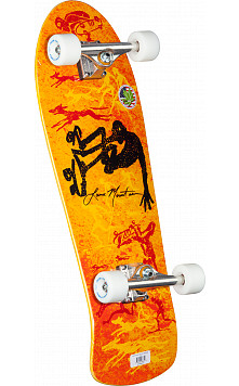 Bones Brigade® Lance Mountain 5th Series Reissue Complete Skateboard Orange - 10 x 30.75