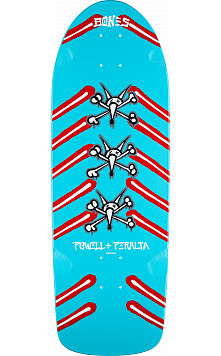 Powell Peralta OG Rat Bones Blue Deck - 10 x 31
