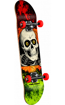 Powell Peralta Ripper Storm Complete Red/Lime - 8 x 32.125