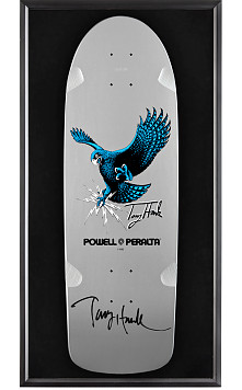 Bones Brigade® Shadowbox Tony Hawk BLEM Skateboard Deck Signed by Hawk