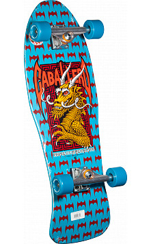 Bones Brigade® Steve Caballero 5th Series Reissue Complete Skateboard Blue - 10 x 30