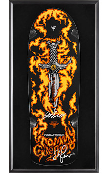 Bones Brigade® Shadowbox Guerrero BLEM Deck Signed By GAP/Stacy
