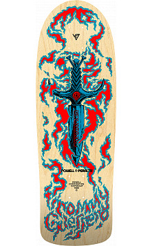 PRE-ORDER Bones Brigade® Tommy Guerrero 11th Series Reissue Skateboard Deck Natural - 9.6 x 29.18