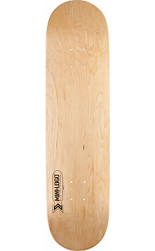 Mini Logo Small Bomb Skateboard Deck 191 Natural - 7.5 x 28.65