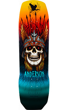 Powell Peralta Pro Any Anderson Crane Flight Skateboard Deck - 9.13 x 32.8