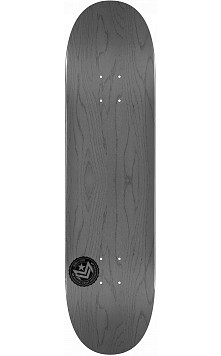"MINI LOGO CHEVRON STAMP 2 ""13"" SKATEBOARD DECK 255 GRAY - 7.5 X 30.70"
