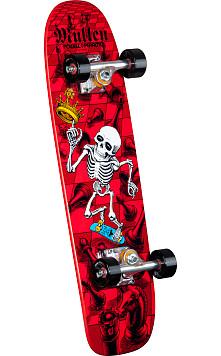 Bones Brigade® Mullen Complete Red - 7.4 x 27.625