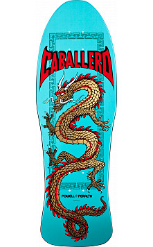 Powell Peralta Caballero Chinese Dragon Turquoise Deck - 10 x 30