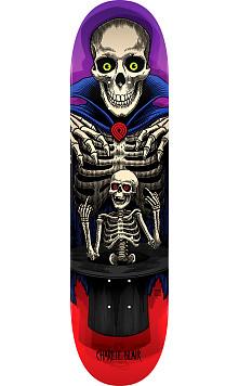 Powell Peralta Pro Charlie Blair Magician Skateboard Deck Red/Purple - Shape 243 - 8.25 x 31.95
