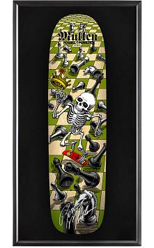 Bones Brigade® Shadowbox Mullen Chess Blem Skateboard Deck Natural - Signed by Rodney