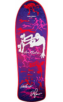 Bones Brigade Mountain Purple Deck Autographed by GAP/Stacy