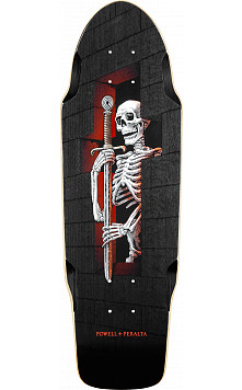Powell Peralta Diligatis Pusher black Skateboard Deck - 8.75 x 27.75