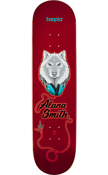 hoopla Pro Alana Smith Wolf 2 Skateboard Deck 181