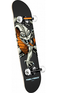 Powell Peralta Cab Dragon Complete Skateboard Gray - 7.75 x 31.75