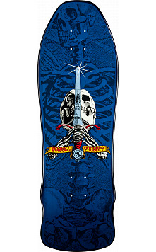 Powell Peralta Rodriguez Geegah Skull and Sword Deck - 9.75 x 30