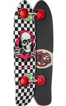 Powell Peralta Sidewalk Surfer Checker Ripper Cruiser Complete Skateboard - 7.75 x 27.20 WB 14.0