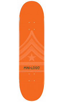Mini Logo Quartermaster Deck 126 Orange - 7.625 x 31.625