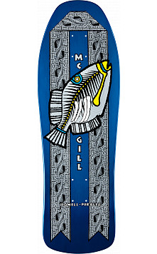 Bones Brigade McGill Humu Fish Blue Deck