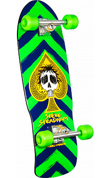 Powell Peralta Steve Steadham Complete Skateboard Green/Navy - 10 x 30.125