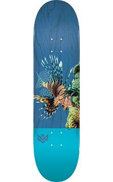 "MINI LOGO POISON ""16"" SKATEBOARD DECK 244 K20 LION FISH - 8.5 x 32.08"