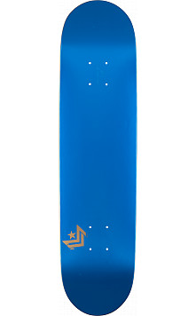 Mini Logo Chevron Skateboard Deck 191 Metallic Blue - 7.5 x 28.65