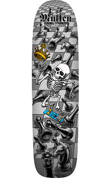 Pre Order Bones Brigade® Rodney Mullen 12th Series Reissue Skateboard Deck Silver - 7.4 x 27.625