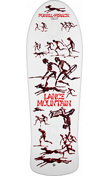 Pre Sale - Bones Brigade Lance Mountain 9th Series Reissue Skateboard Deck - 10 X 30.75