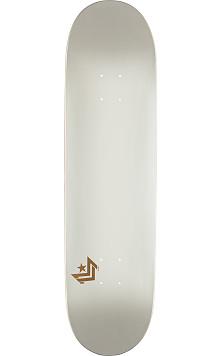Mini Logo Chevron Skateboard Deck 248 Pearl White - 8.25 x 31.95