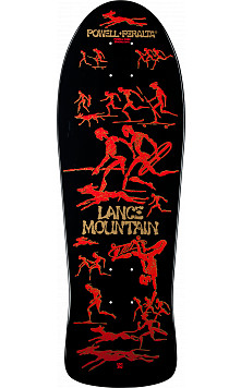 Bones Brigade® Lance Mountain Future Primitive Skateboard Deck Black - 9.94 x 30