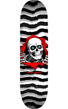 Powell Peralta Ripper Skateboard Deck Pastel White - Shape 247 - 8 x 31.45