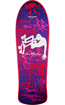 Bones Brigade® Lance Mountain 6th Series Reissue Skateboard Deck Purple - 10 x 30.75