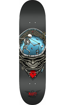 Powell Peralta Pro Mighty Pool Skateboard Deck Gray - Shape 244 - 8.5 x 32.08