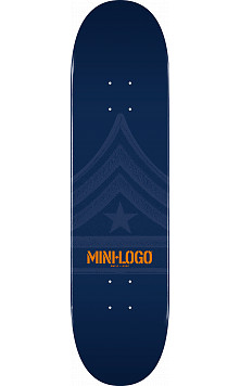 Mini Logo Quartermaster Skateboard Deck 112 Navy - 7.75 x 31.75
