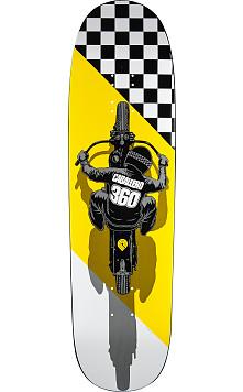 Powell Peralta Caballero Flat Track Skateboard Deck 203B K21 Yellow - 8.7 x 31.72