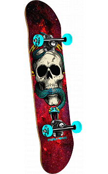 Powell Peralta McGill Cosmic Red Complete Assembly - 7.625 x 31.625