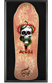Bones Brigade® Shadowbox McGill Blem Skateboard Deck Natural - Signed by Mike