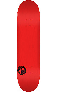 "MINI LOGO CHEVRON STAMP ""12"" SKATEBOARD DECK 124 RED - 7.5 X 31.375"