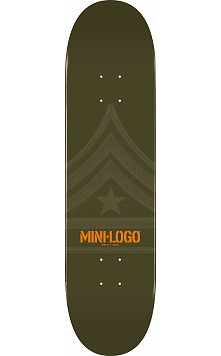 Mini Logo Quartermaster Deck 170 Green - 8.25 x 32.5
