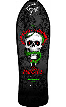 Bones Brigade Mike McGill Autographed Deck Black
