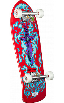 Bones Brigade Tommy Guererro Flaming Dagger Complete Red - 9.75 x 30.4