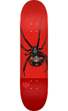 "MINI LOGO POISON ""16"" SKATEBOARD DECK 191 K16 BLACK WIDOW - 7.5 X 28.65 - MINI"