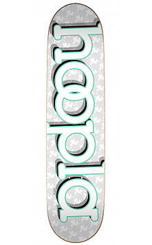 hoopla logo  Skateboard Deck 170 - 8.25 x 32.5
