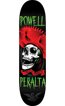 Powell Peralta Te Chingaste Skateboard Deck Red - 8 x 31.45