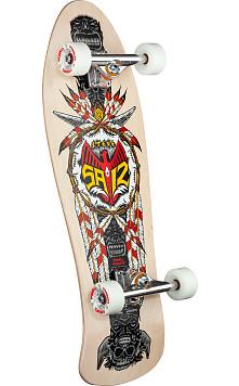 Powell Peralta Steve Saiz Custom Complete Skateboard Natural - 10 x 30.81
