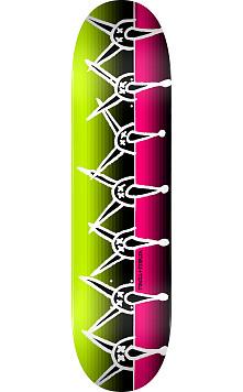 Powell Peralta Vato Rat Band Skateboard Deck Pink/Green 247 K20 - 8 x31.45