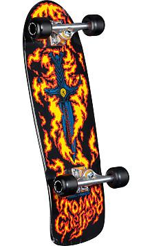 Bones Brigade Guerrero Series1 Skateboard Complete Black- 9.6 x 29.13