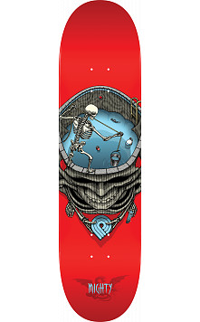 Powell Peralta Pro Mighty Pool Skateboard Deck Red - 8.25 x 31.95