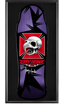 Bones Brigade® Shadowbox Tony Hawk BLEM Skateboard Deck Signed by Tony